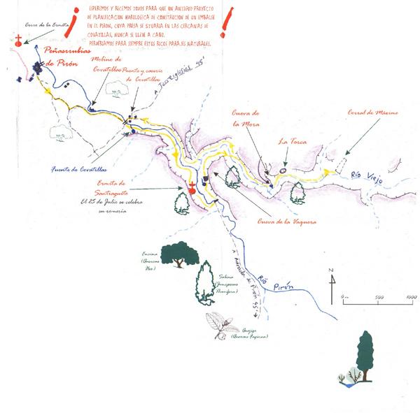 Cañones del Río Pirón y Viejo